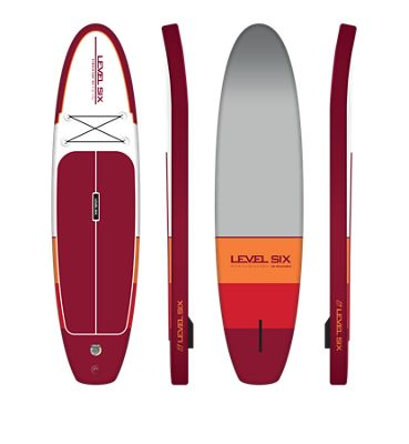Level Six HD Inflatable SUP Board