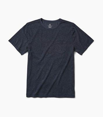 Roark Men's Well Worn Print Short Sleeve Knit Shirt