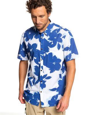 Quiksilver Mens's Tech Floral Bomb Shirt