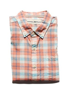 The Normal Brand Men's SS Louis Button Down