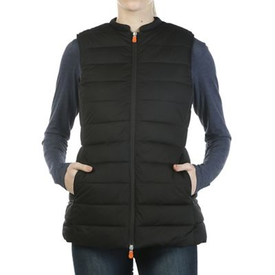 Save The Duck Women's Signature Stretch Long Vest