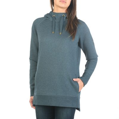 Moosejaw Women's Word Up High Neck Pullover Hoody