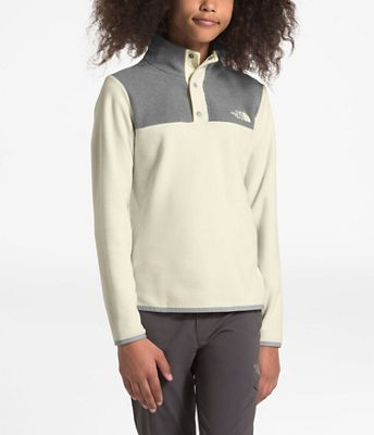 The North Face Girls' Glacier 1/4 Snap Top
