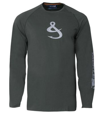 Hook & Tackle Men's Phenom LS Tech Tee