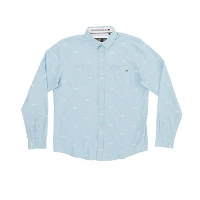 Salty Crew Men's Market LS Tech Woven Top