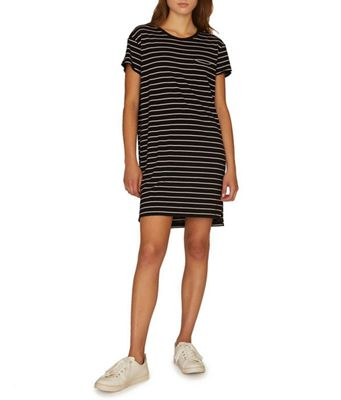 Sanctuary Women's One Pocket T-Shirt Dress