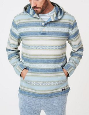 Faherty Men's Pacfic Poncho