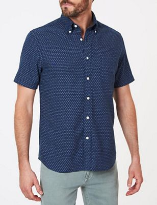 Faherty Men's SS Pacific Shirt