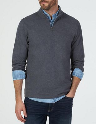 Faherty Men's Suffolk Pullover Sweater