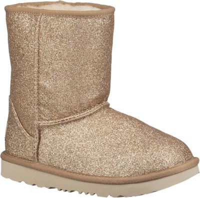 Ugg Kid's Classic Short II Glitter Boot