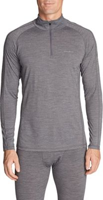 Eddie Bauer First Ascent Men's Heavyweight Freedry Merino Baselayer 1/4 Zip Up