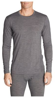 Eddie Bauer First Ascent Men's Midweight Freedry Merino Hybrid Long Sleeve