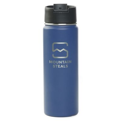 Mountain Steals 20oz Wide Mouth Insulated Bottle by HydroFlask - Horizontal