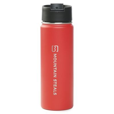 Mountain Steals 20oz Wide Mouth Insulated Bottle by HydroFlask - Vertical