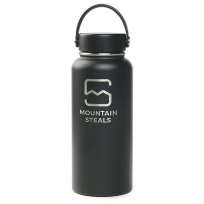 Mountain Steals 32oz Wide Mouth Insulated Bottle by HydroFlask - Horizontal