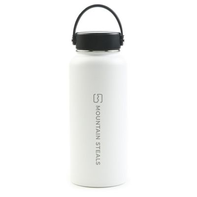 Mountain Steals 32oz Wide Mouth Insulated Bottle by HydroFlask - Vertical