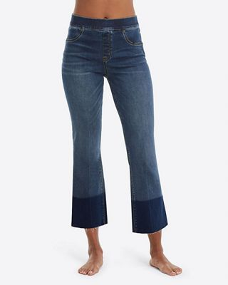 Spanx Women's Cropped Flare Denim