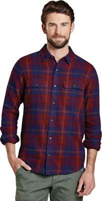 Toad & Co Me's Indigo Flannel Slim LS Shirt