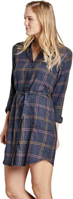 Toad & Co Women's Re-Form Flannel Shirtdress