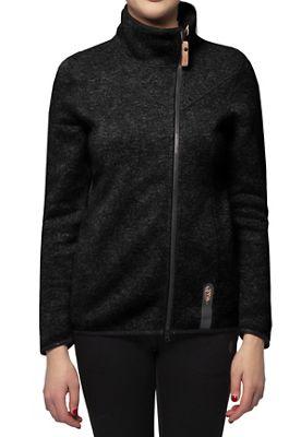 Indygena Women's Kaula Zip-Up Fleece Knit Top