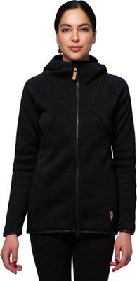 Indygena Women's Pania Zip-Up Fleece Knit Hoodie