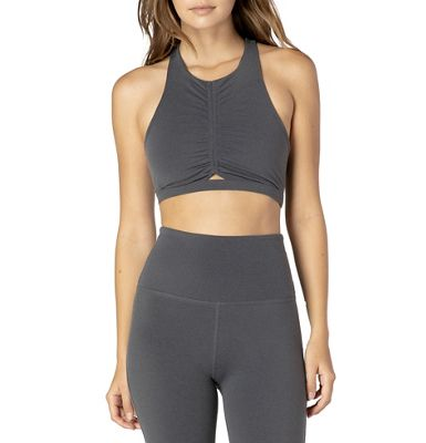 Beyond Yoga Women's Plush and Ruched Bra
