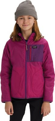 Burton Girls' Snooktwo Reversible Fleece Jacket
