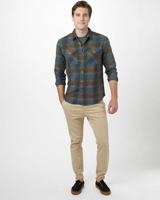 Tentree Men's Bowren LS Button Up