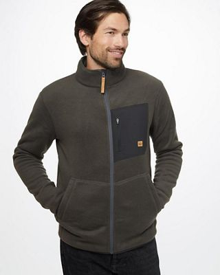 Tentree Men's Kaluchha Zip Up Fleece