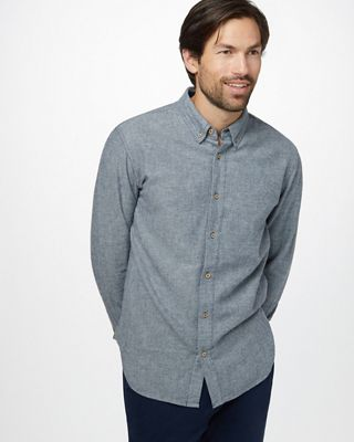Tentree Men's Veddar LS Button Up