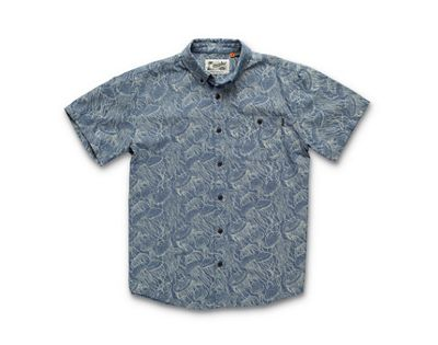 Howler Brothers Men's Mansfield Shirt Jellyfish Print