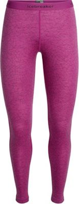 Icebreaker Women's 200 Oasis Leggings Sky Paths