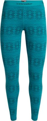 Icebreaker Women's 250 Vertex Leggings Crystalline