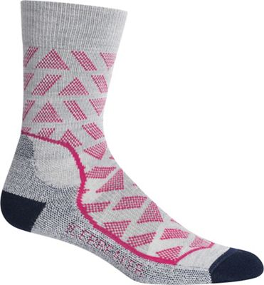 Icebreaker Women's Hike+ Light Stride Crew Sock