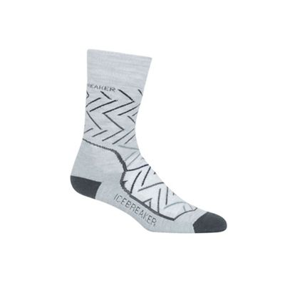 Icebreaker Women's Hike+ Sunrise Medium Crew Sock