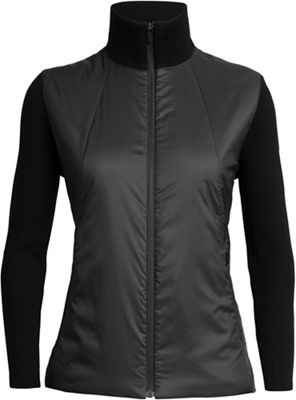 Icebreaker Women's Lumista Hybrid Sweater Jacket