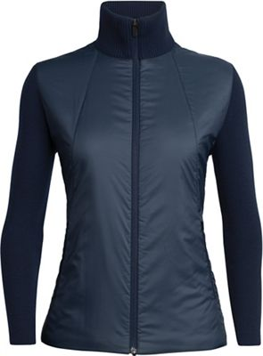 Icebreaker Women's Lumista Hybrid Sweater Jacket
