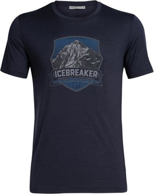 Icebreaker Men's Tech Lite SS Crewe Everest Crest