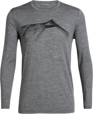 Icebreaker Men's Tech Lite LS Crewe Shear