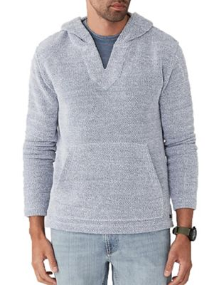 Faherty Men's Backloop Jacquard Baja Poncho