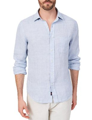 Faherty Men's Linen AMK Shirt