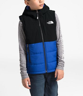 The North Face Youth Balanced Rock Insulated Hooded Vest