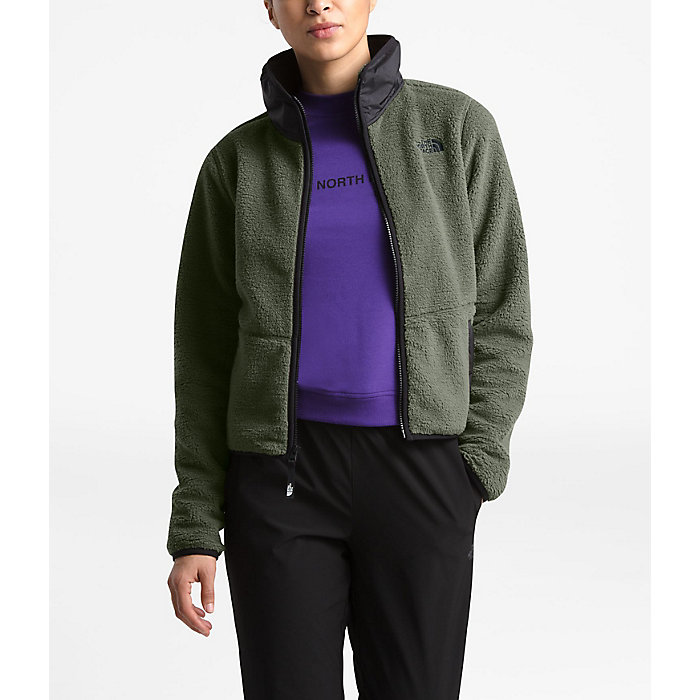 The North Face Women S Dunraven Sherpa Crop Moosejaw