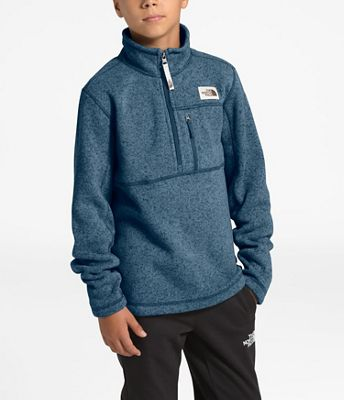 The North Face Boys' Gordon Lyons 1/4 Zip Jacket