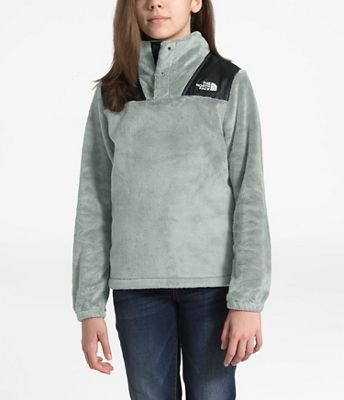The North Face Girls' Oso 1/4 Snap Pullover