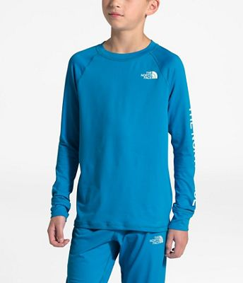 The North Face Youth Poly Warm Crew Top