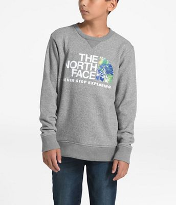 The North Face Youth Recycled Materials Crew