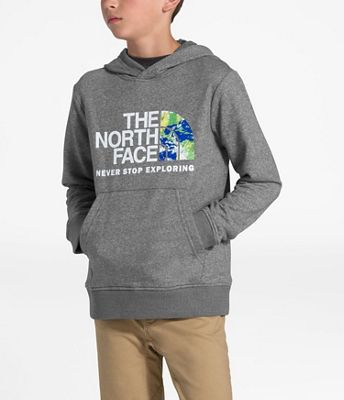 The North Face Boys' Recycled Materials Pullover Hoodie
