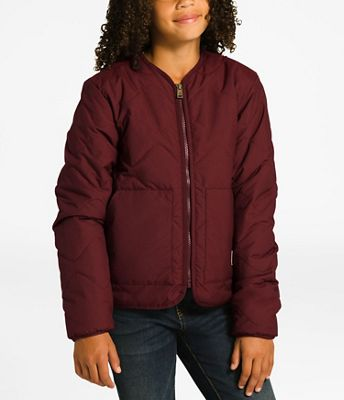The North Face Girls' Sierra Quilted Cardigan