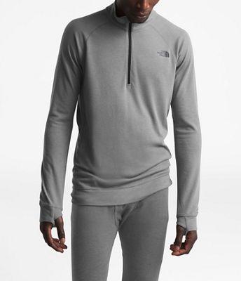 The North Face Men's Warm Wool Blend LS Zip Neck Top